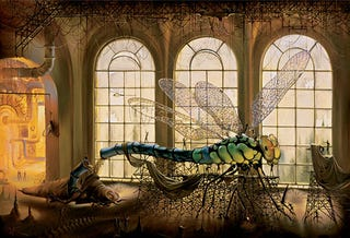 Illustration for article titled Inside the City of Insect Motors and Mushroom People