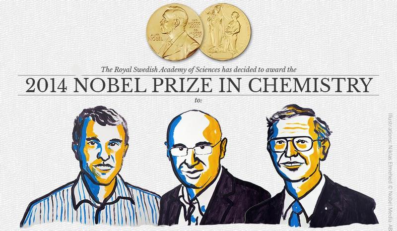 Illustration for article titled Nobel de Química a Betzig, Hell y Moerner, creadores del nanoscopio