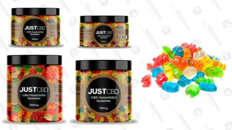 Just CBD Gummy Bears | $21-$54 | Groupon