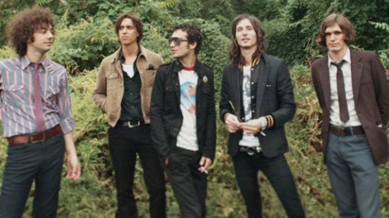 """Illustration for article titled The Strokes debut """"One Way Trigger"""" off their new album"""