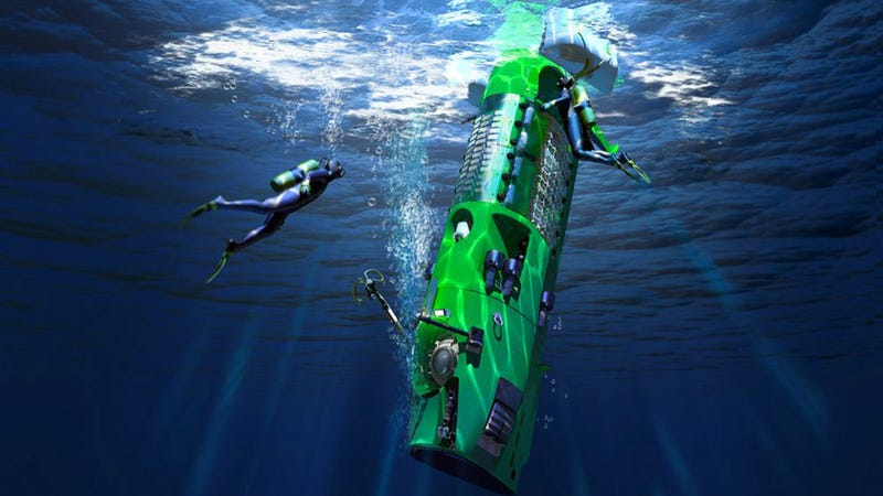 """Illustration for article titled James Cameron says today's ocean exploration is """"piss poor."""" He's right."""