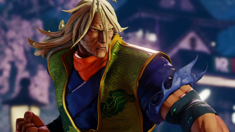 Street Fighter V Gets A New Character Called Zeku