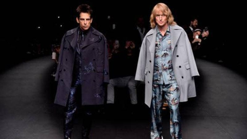 Illustration for article titled Ben Stiller and Owen Wilson confirm Zoolander 2 with a Fashion Week walk-off