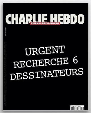 """Illustration for article titled The """"next Charlie Hebdo cover"""" that's going viral is fake"""
