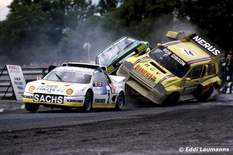 Illustration for article titled 1982-1992 FIA European Rallycross Championship Division 2 Photodump