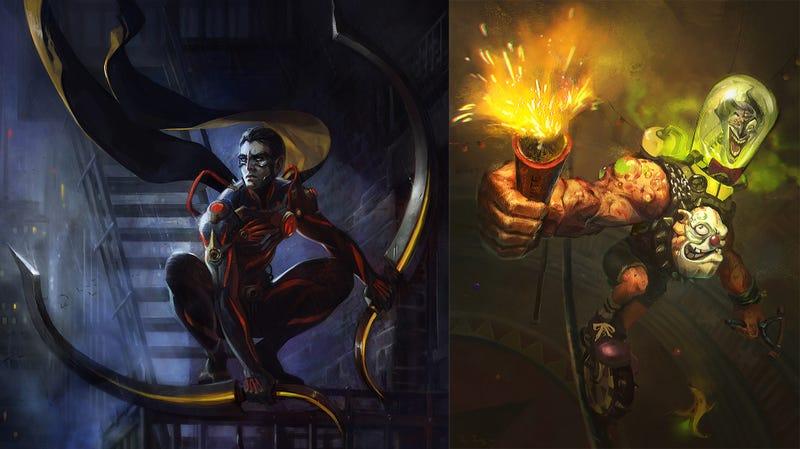 Illustration for article titled Batman's Vampire Son And The Joker's Severed Head Join Infinite Crisis
