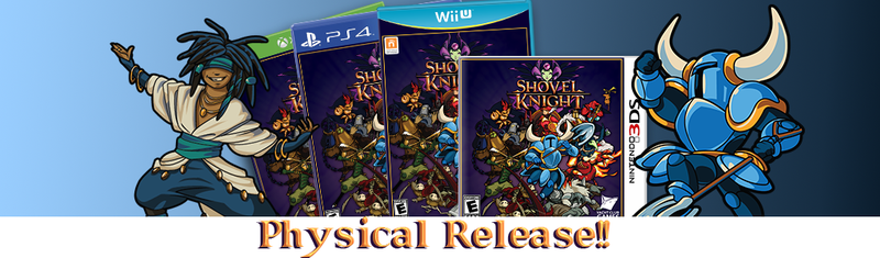Illustration for article titled Shovel Knight Receives PS4, XO, Wii U and 3DS Retail Release [UPDATED]