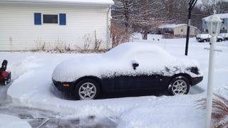 On Driving A Miata In Winter