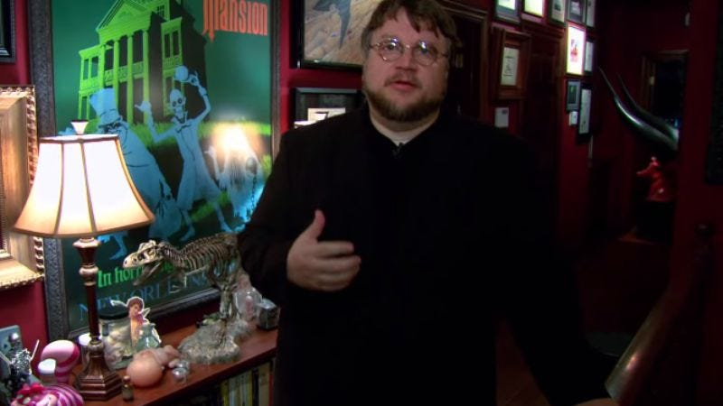 Illustration for article titled Guillermo Del Toro's awesome monster house is going on tour