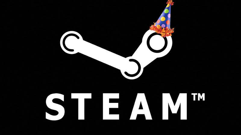 Illustration for article titled Happy 11th Birthday Steam!