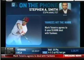 Illustration for article titled Everyone Hates The Yankees ... Except For Stephen A.
