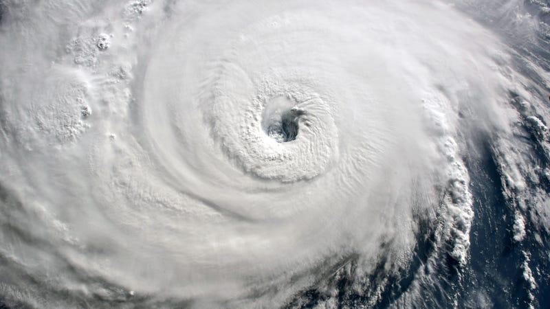 Hurricane Florence moving toward the Carolinas September 2018,