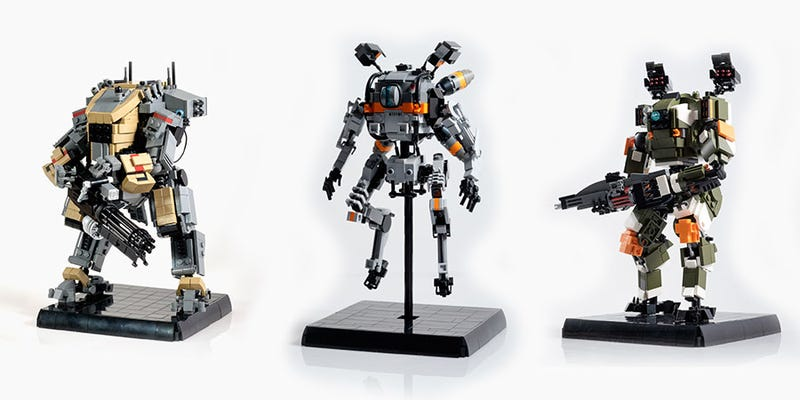 Illustration for article titled Custom Titanfall LEGO Is Great