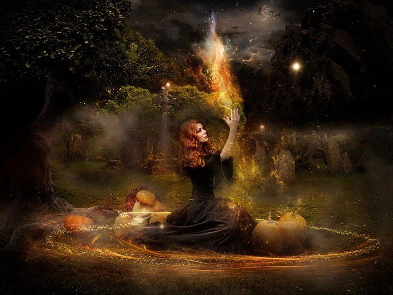 Illustration for article titled Happy Samhain