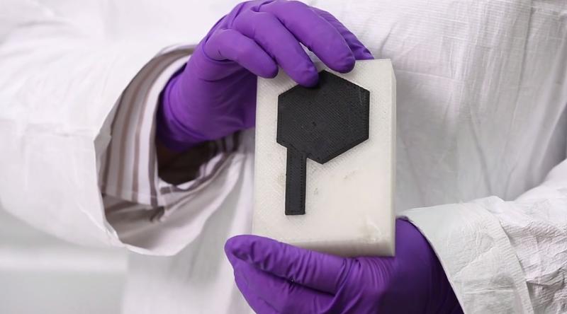 Illustration for article titled Logran crear baterías de grafeno mediante una impresora 3D
