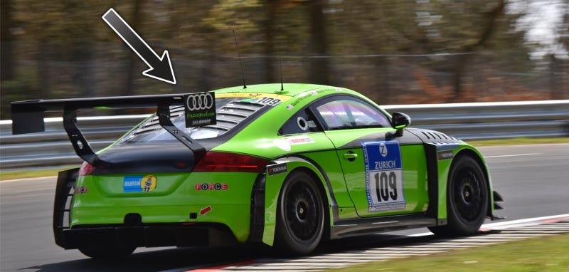 Illustration for article titled Rotek Racing Gets Jalopnik Bump At Nürburgring 24 Hours Qualifying Race