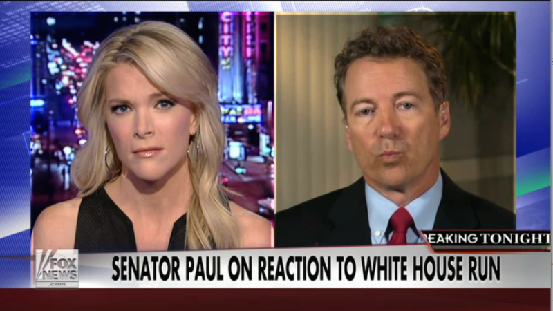 Illustration for article titled Fox News Enigma Megyn Kelly Slams Rand Paul's Sexist Behavior