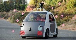 Illustration for article titled The Best Google Car Photoshops