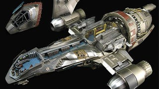 Illustration for article titled Firefly's Serenity Finally Gets the Detailed Cutaway Model It Deserves