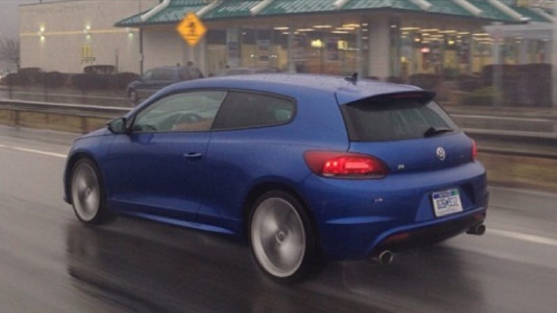 Vw Scirocco Usa >> What It S Like Driving The Rarest New Car In The United States