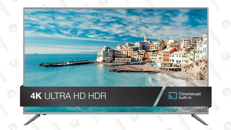 "JVC 65"" Class 4K Ultra HD (2160P) HDR Smart LED TV with Built-in Chromecast 