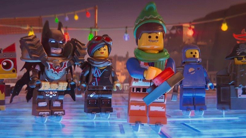 Everything Is Temporarily Awesome Again in This Charming Lego Movie 2 Christmas Short