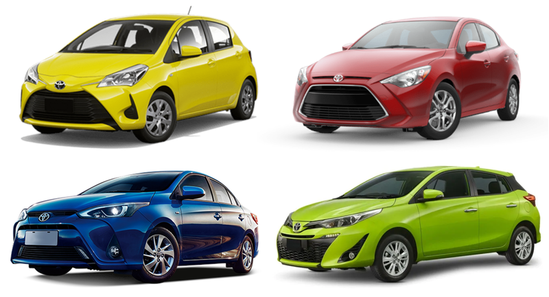 Illustration for article titled These are all called the Toyota Yaris