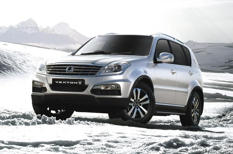 Illustration for article titled The Ssangyong Rexton W