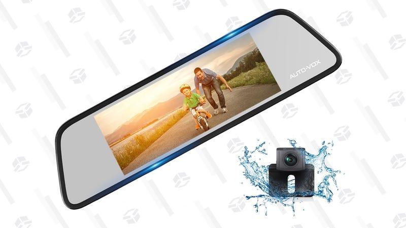 Auto-Vox M8 Dash Cam/Rear-View Camera | $127 | Amazon | Use code HR3GQZZX