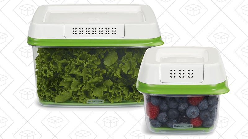 Rubbermaid 2-Piece FreshWorks Produce Saver Set, $15