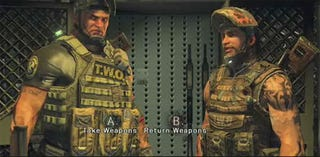 Illustration for article titled Army of Two Sequel Will Pit Europe Vs. America In Morality Test