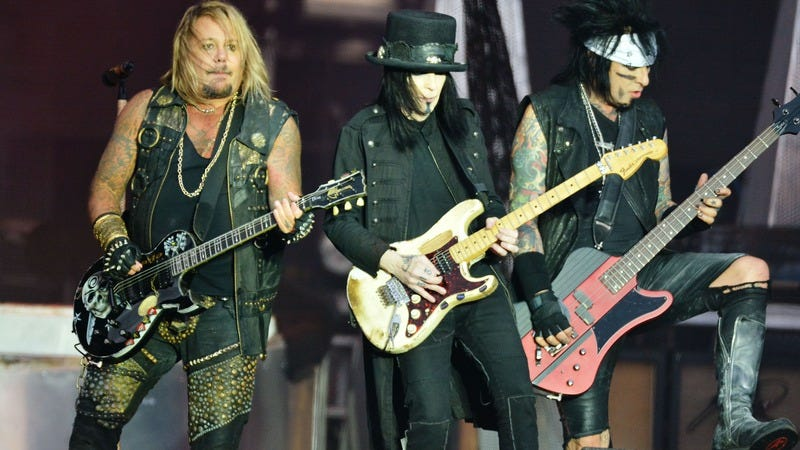Netflix is making a Motley Crüe biopic