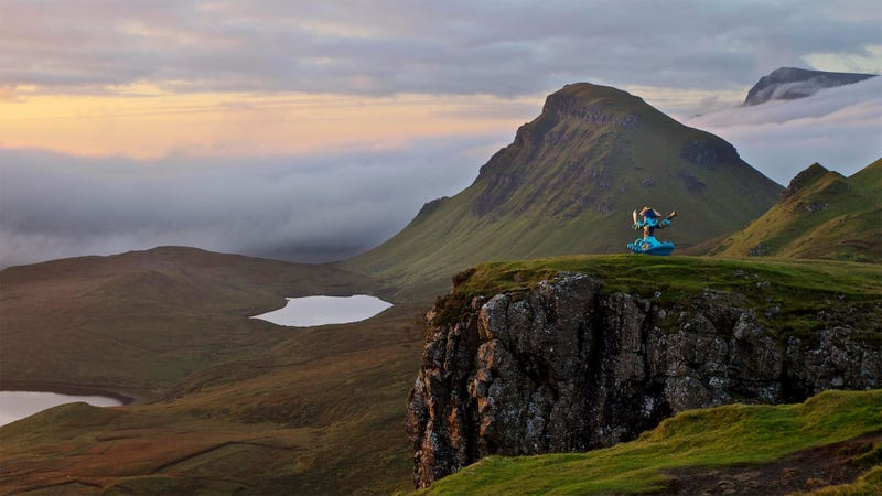 Illustration for article titled An Entire Scottish Island Is Now An Ad For Skylanders