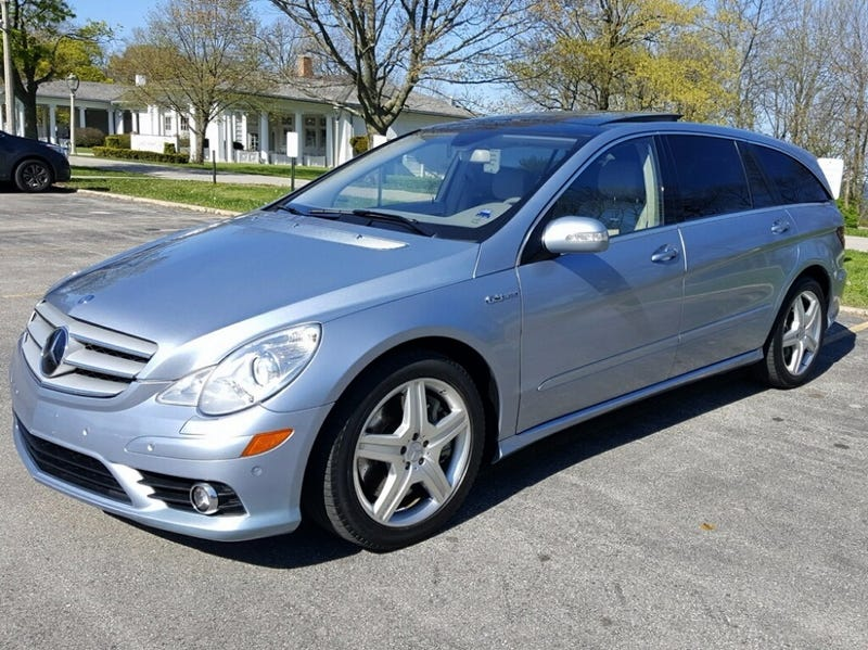 If You Have The Need For Three Rows And Getting Places Quick As Heck Then Today S Nice Price Or Pipe Benz R63 May Be Car