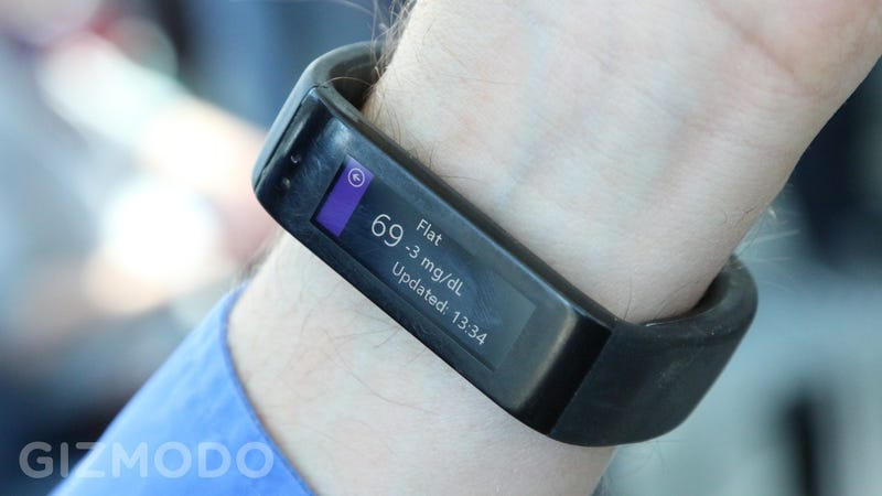 Illustration for article titled The Microsoft Band Could Get Way More Interesting With DIY Web Apps