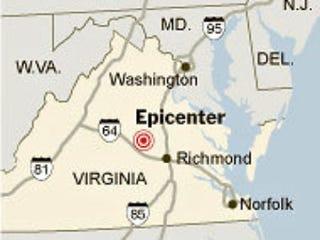 Illustration for article titled Earthquake Shakes East Coast