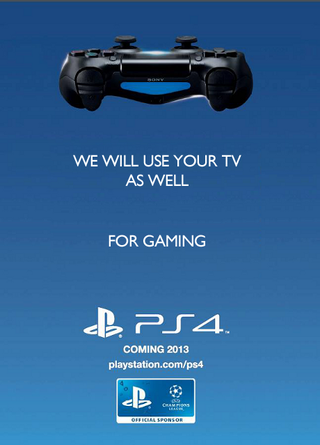 Illustration for article titled Sony's response to Xbox One