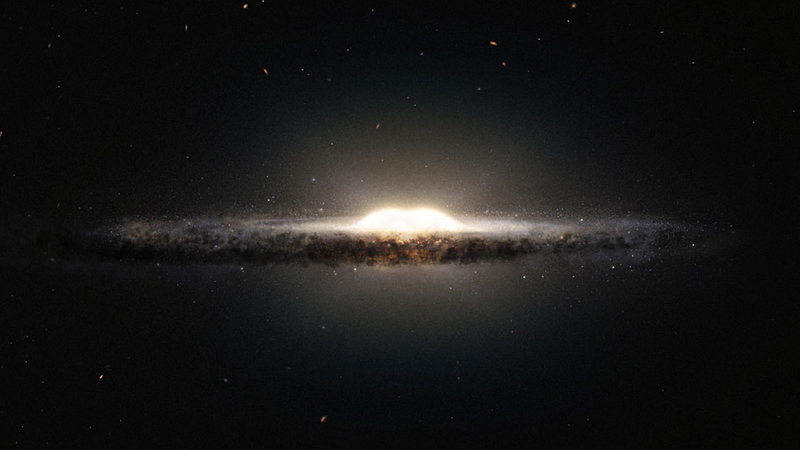 The Most Accurate D Map Of Our Galaxy Reveals A Peanutshaped Core - Accurate map of the solar system