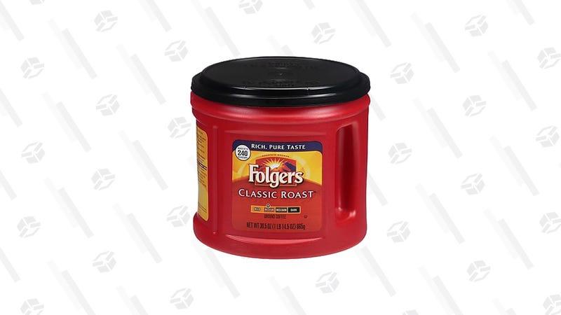 Folgers Classic Roast Coffee, 30.5 Oz | $6 | Staples
