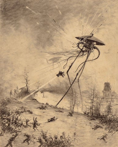 Illustration for article titled At last, the Beeb tackle War of the Worlds