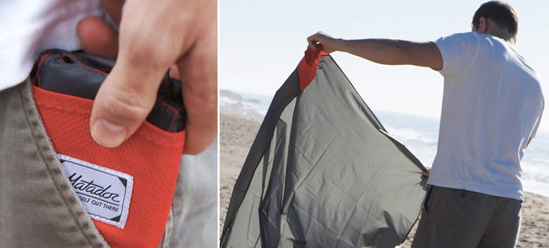 Illustration for article titled A Puncture-Proof Emergency Blanket That Folds Up Smaller Than a Wallet