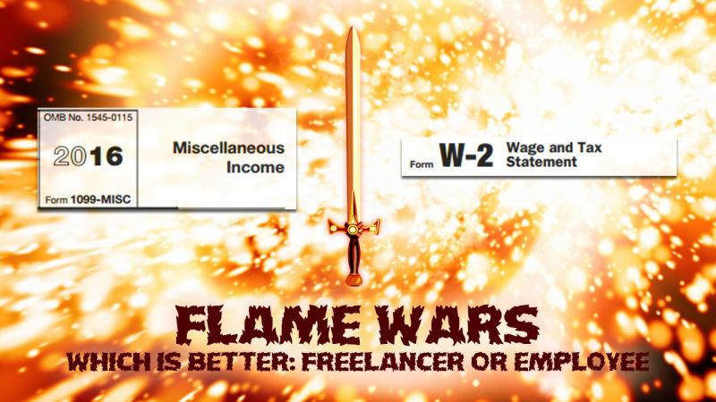 Illustration for article titled Freelancer or Employee: Your Best Arguments