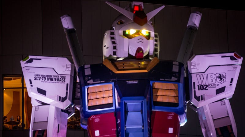 Illustration for article titled Fresh off that Ready Player One cameo, a live-action Gundam movie is in the works