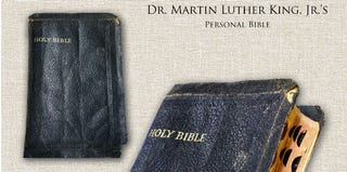 Martin Luther King Jr.'s personal Bible (the estate of Martin Luther King Jr.)