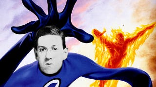 Illustration for article titled What if H.P. Lovecraft wrote the Fantastic Four?