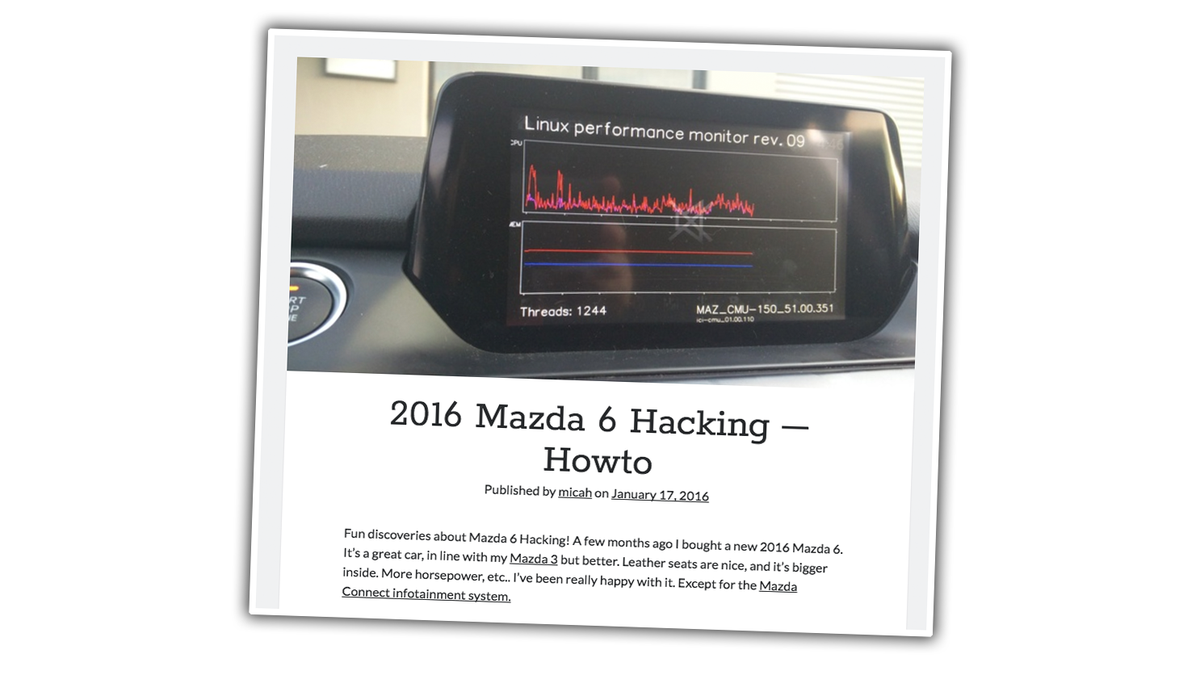 2016 mazda navigation sd card hack
