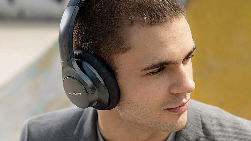 Anker Soundcore Life 2 Noise Canceling Bluetooth Headphones   $50   Amazon