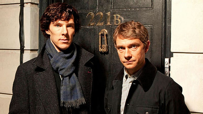 Illustration for article titled New Sherlock Footage Debuts Tomorrow