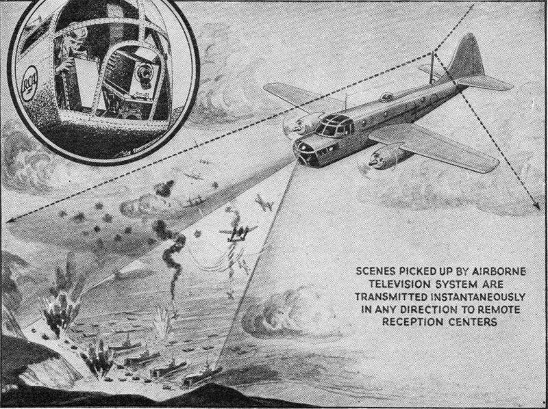Illustration for article titled The TV-Guided Drones of World War II