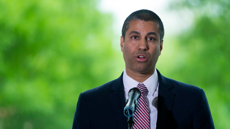 FCC Chairman Ajit Pai speaks during an internet regulation event at the Newseum April 26, 2017 in Washington, DC. (Photo: Getty)